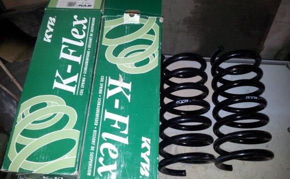 Новые пружины на зад Kayaba K-Flex — бортжурнал Ford Sierra 2.0i
