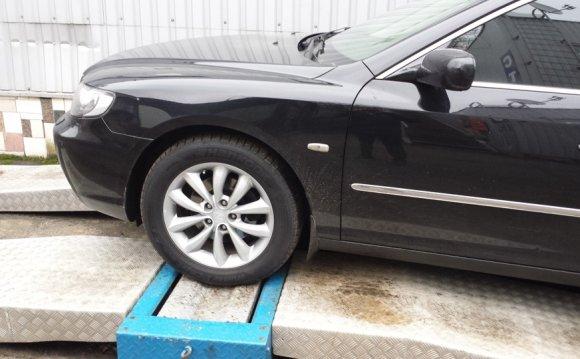 Проверка амортизаторов на стенде. — бортжурнал Hyundai Grandeur