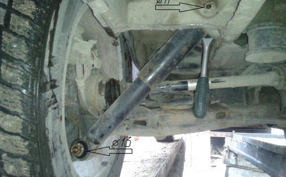 Замена передних и задних амортизаторов — бортжурнал Volkswagen